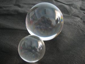 Esferas em acrílico