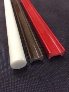 Perfis pultrudados en fibra de vidrio