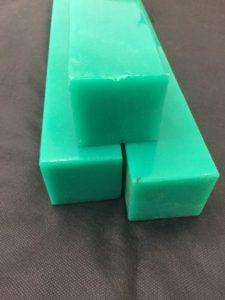 Tarugos quadrados em poliuretano