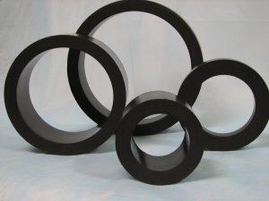 Bujes y anillos en PTFE carbono