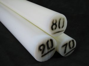 Barras redondas en nylon 6