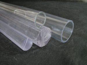 Tubos y bastones en policarbonato