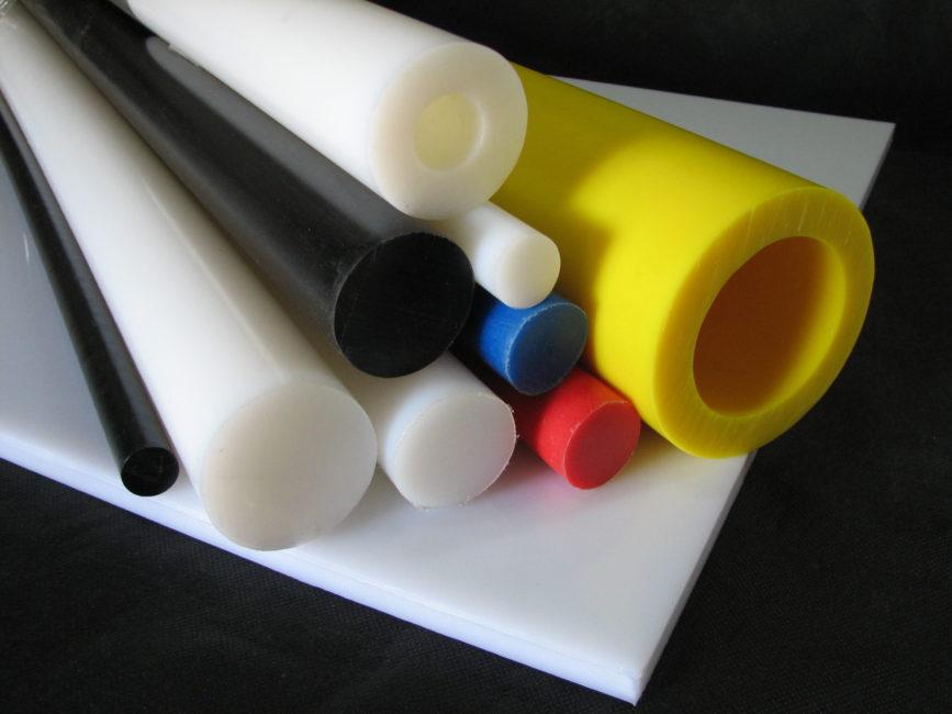 Tarugos, tubos e chapas em UHMW
